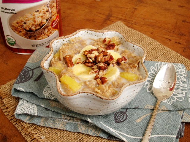 Hummingbird Cake Batter Oatmeal - The Oatmeal Artist