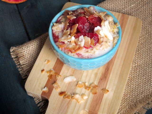 Blood Orange and Toasted Coconut Oatmeal - The Oatmeal Artist