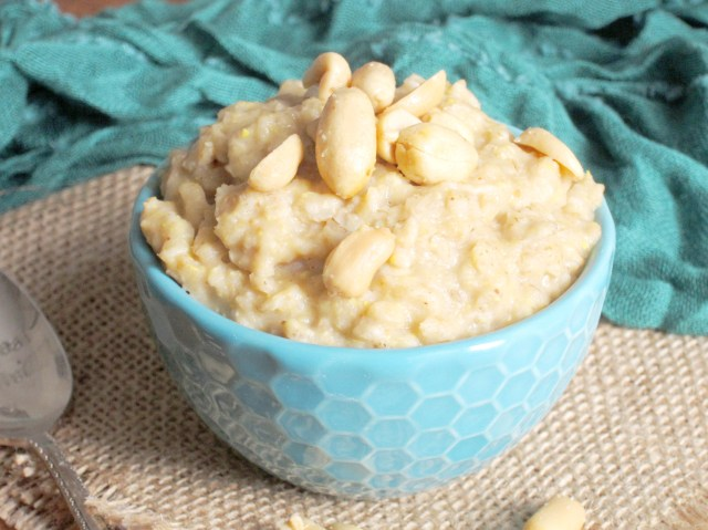 Peanut Butter Cookie Dough Oatmeal by The Oatmeal Artist