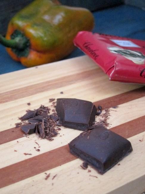 Chocolate Chili Cherry Oatmeal - The Oatmeal Artist #oatmealartist