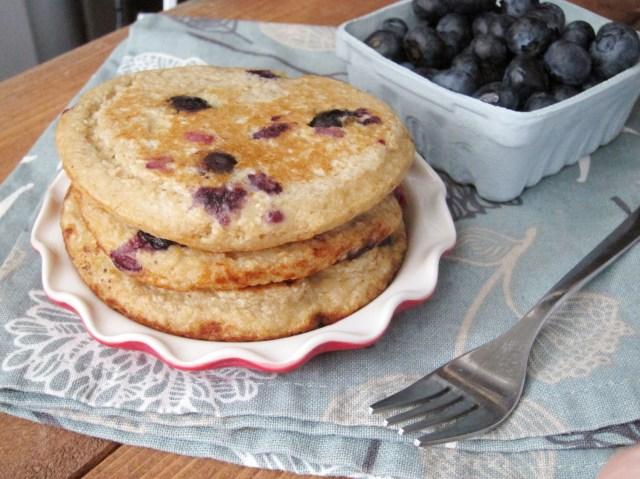 Lemon Blueberry Oatcakes by The Oatmeal Artist #oatmealartist