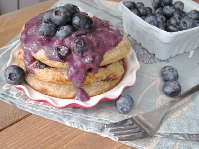 Lemon Blueberry Oatcakes by The Oatmeal Artist