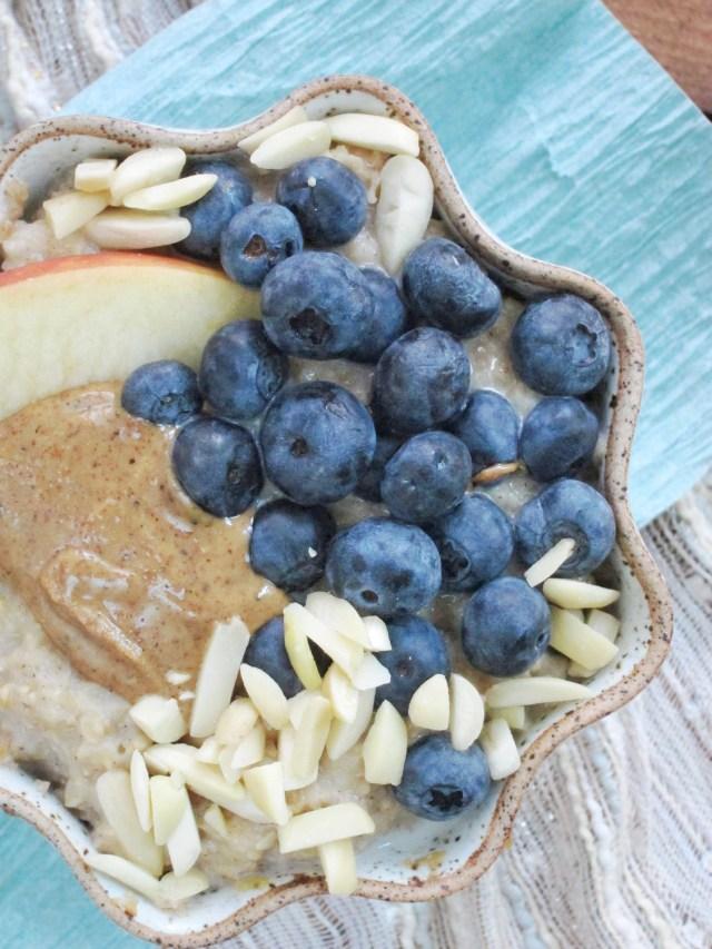 Blueberry Apple Oatmeal