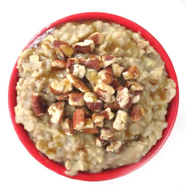 Maple Chesnut Oatmeal #OatmealArist #vegan