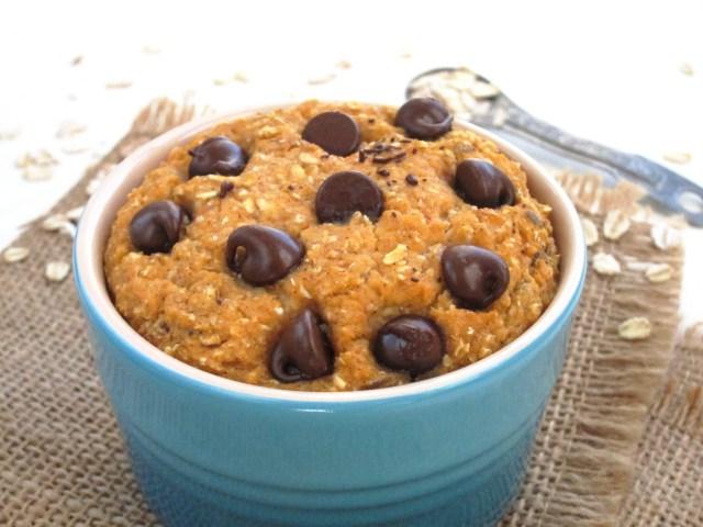 Sweet Potato Chocolate Chip Baked Oatmeal #oatmealartist #vegan