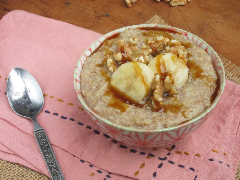 Watch Caramelized Banana Nut Oatmeal video