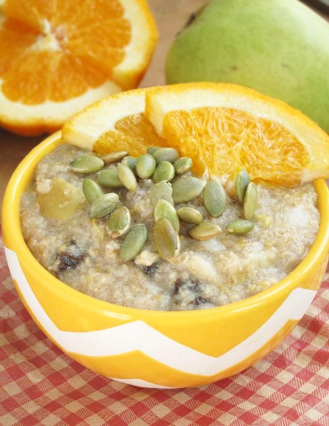 citrus-pear-oatmeal-oatmeal-artist-vegan