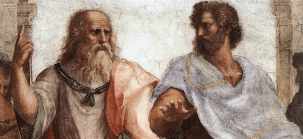 Image result for plato aristotle