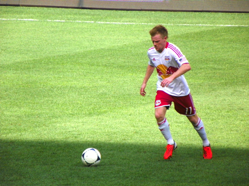 Fan favorite Dax McCarty is one of the few Red Bulls players back from last year's team that won 16 matches.