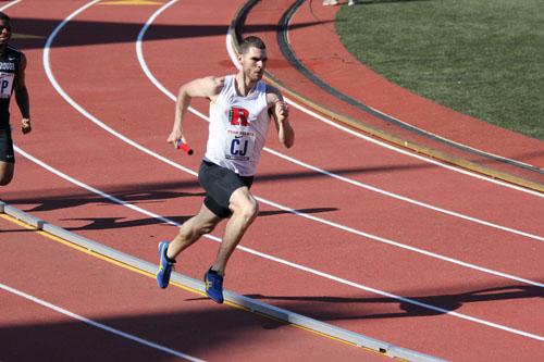 Photo courtesy of Rutgers-Newark sports information Kearny native Chris Happel has been tearing up the track for the Rutgers- Newark track team.