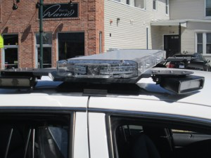 Photo by Ron Leir LPRs mounted atop patrol car