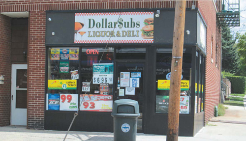 Photo by Ron Leir Sub shop where ticket was sold is lucky, too. It will get $30,000.