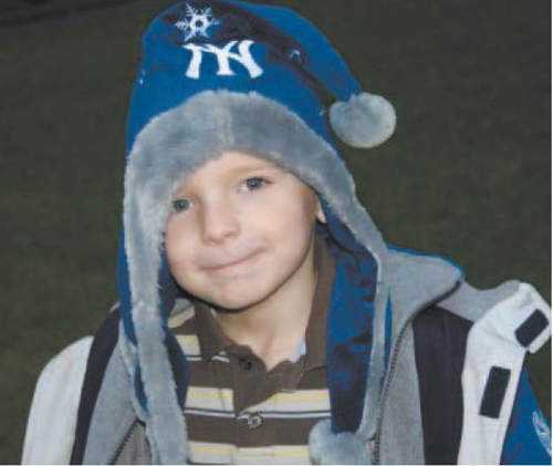 Photo courtesy Kowalski family Chase Kowalski, 7, for whom 'Chase's Place' playground is named. Chase was among the children slain at Sandy Hook Elementary School.