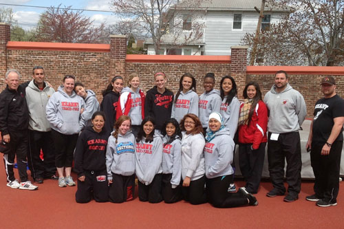 Photo by Jim Hague The Kearny girls indoor track and field and cross country teams had county championship seasons in 2013, good enough for the No. 8 spot among the Top 10 Sports Stories of the Year.