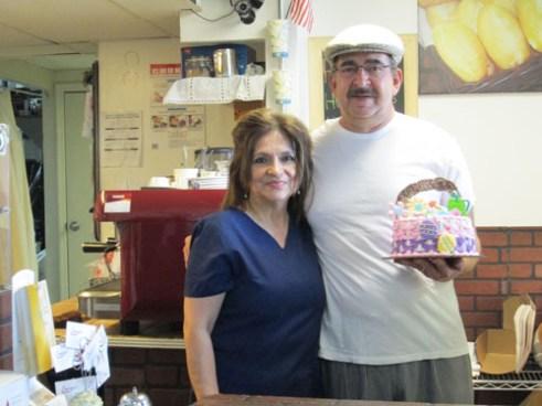 Photo by Ron Leir Domingo's Bakery proprietors