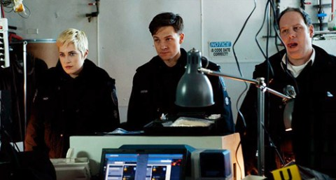Officers Gail Peck (Charlotte Sullivan), Dov Epstein (Gregory Smith) and Oliver Shaw (Matt Gordon).