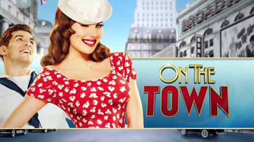 The main poster for 'On the Town.'