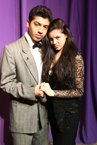 Photos courtesy Matt Boryszewski Gomez and Morticia, played by Raymond Pineda and Julie Coelho.