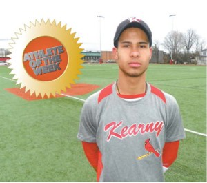 Photo by Jim Hague Kearny senior pitcher/third baseman Josue Rodriguez