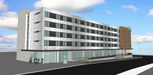 Image courtesy Advance Realty Rendering of AC Hotel by Marriott planned for Harrison.