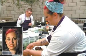 Photos courtesy BravoTV Top photo, Akunowicz preparing a Korean dish on a 'Top Chef' episode. Bottom photo, Akunowicz.