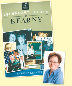 Author Barbara Krasner's new book spotlights the people of Kearny, past and present.