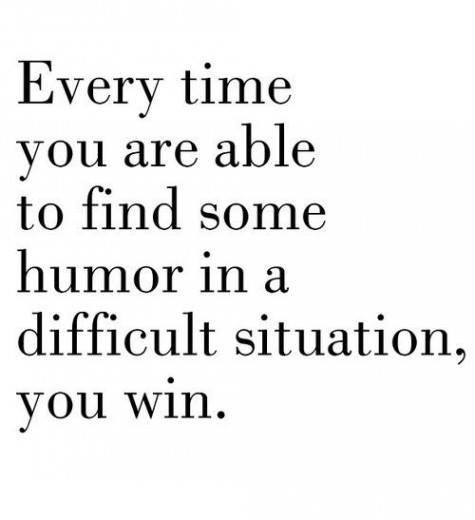 Humor Can Save You