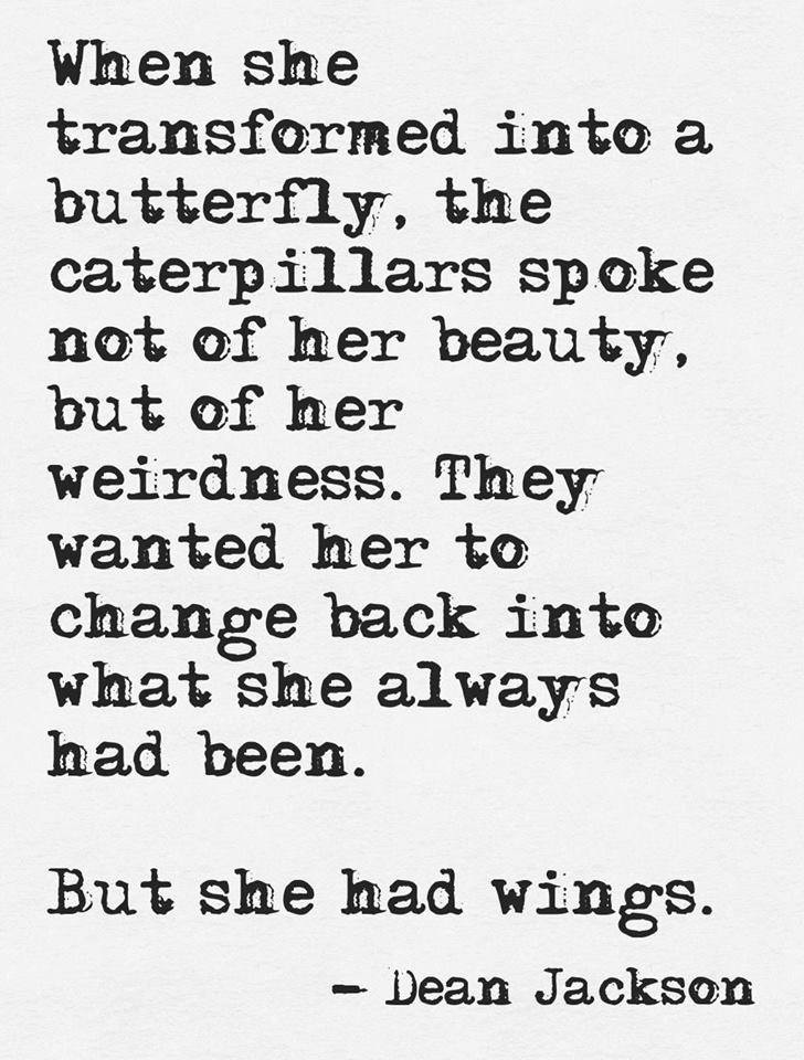 But She Had Wings