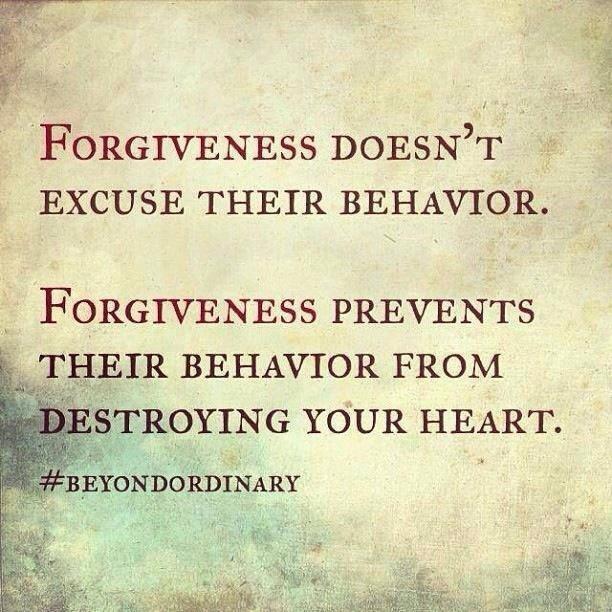 More Forgiveness!
