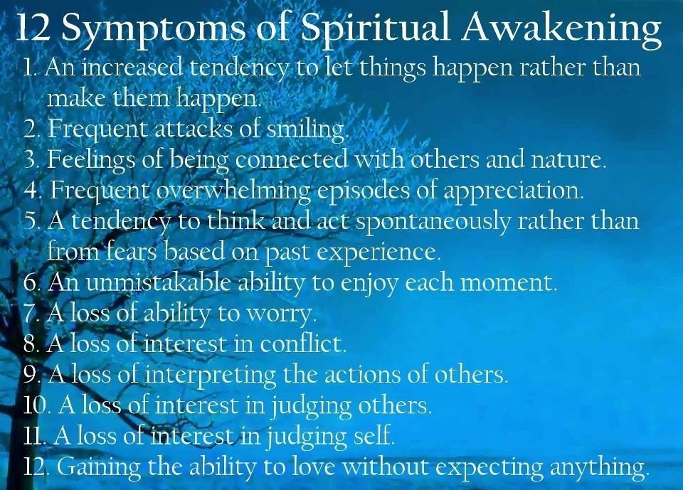 More Spiritual Symptoms!