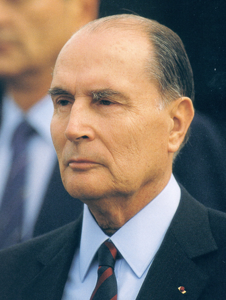"""French President François Mitterrand spoke of """"a powerful and harmful Jewish lobby"""""""