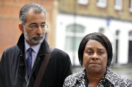 Doreen Lawrence and her Trotskyist lawyer Imran Khan