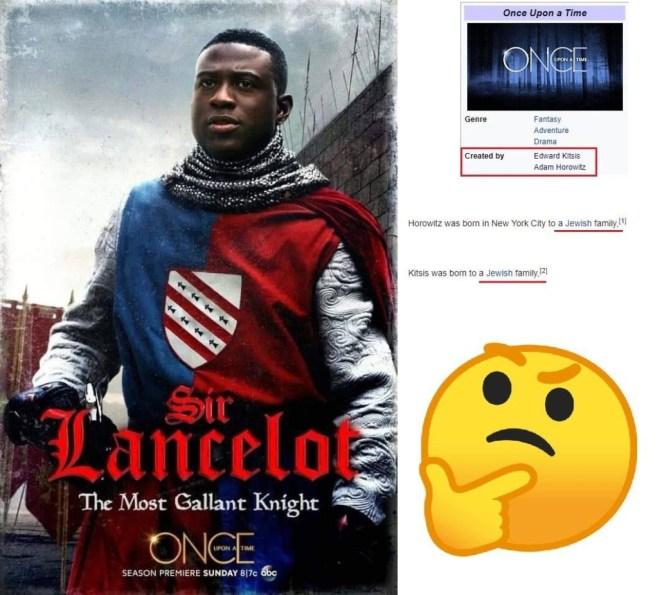 A Black Sir Lancelot, courtesy of two Jews