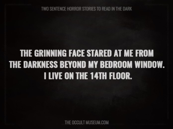 30 scary two sentence horror stories to read in the dark for Sentence of floor