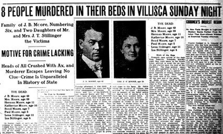 Écoutez ces horribles vice-présidents d'enfants hurlant capturés dans la maison du meurtre de Villisca Axe