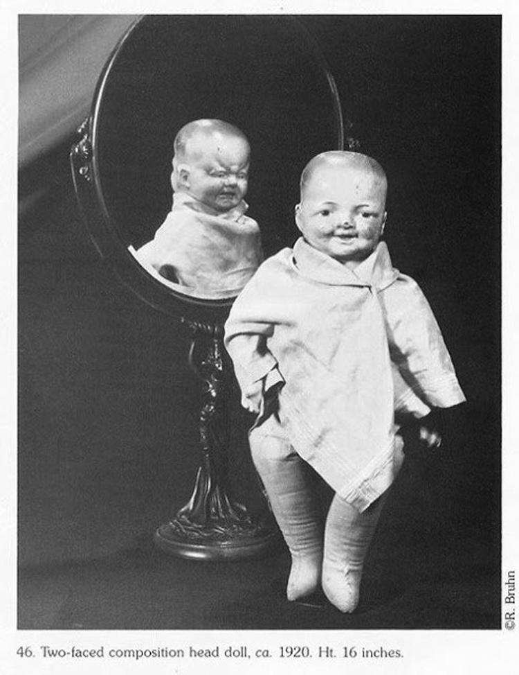 10 photos vintage de poupées effrayantes qui vous feront des cauchemars