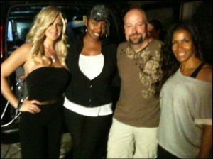 Jason Hawes and the Real Housewives of Atlanta on Ghost Hunters