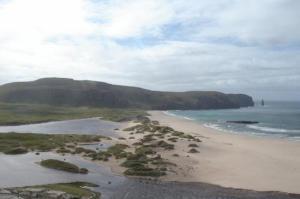 Shipwreck Cemetary Sandwood Bay Cape Wrath