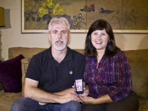 Ghost hunters Roger Pingleton and Jill Beitz, Spirit Story Box app designers