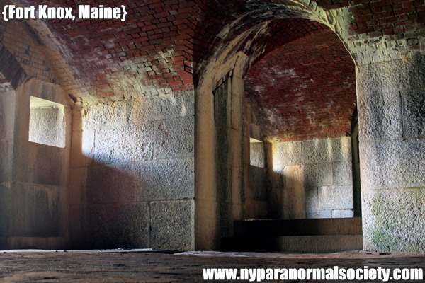 Photo of the Week from Fort KNox in Maine, a Civil War installation featured on Ghost Hunters on SyFy