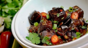 Aubergine Stir Fry - Aubergine Recipes