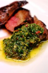 Chimichurri recipe - chimichurri sauce recipe by Theo Michaels