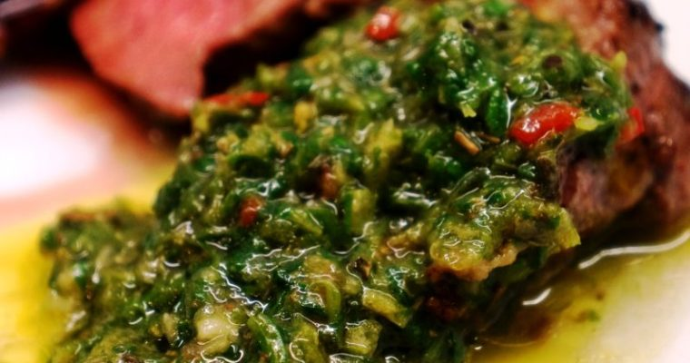Chimichurri Recipe – how to make chimichurri sauce recipe