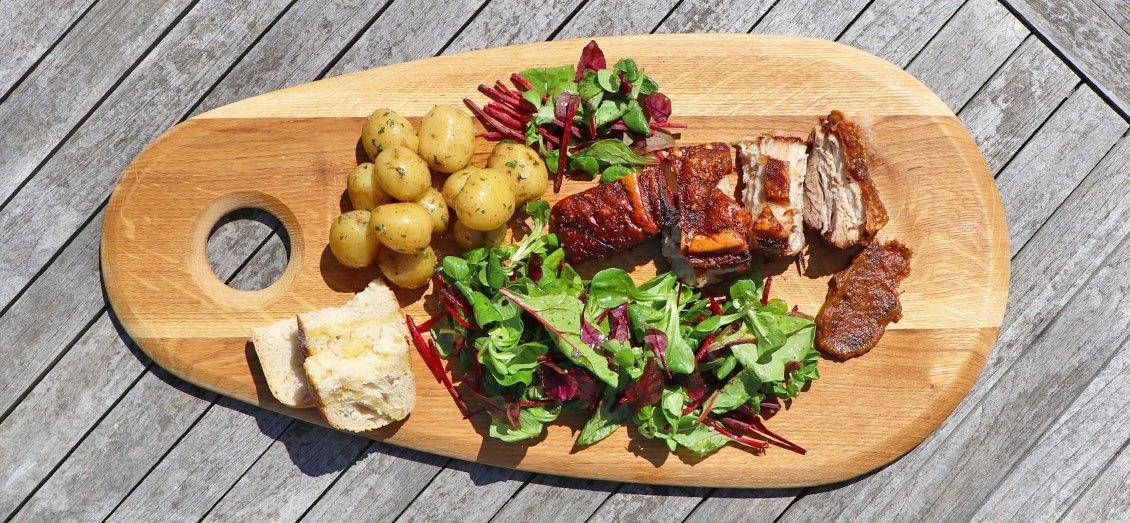 Slow Roast Pork Belly Video – David Lloyd Clubs