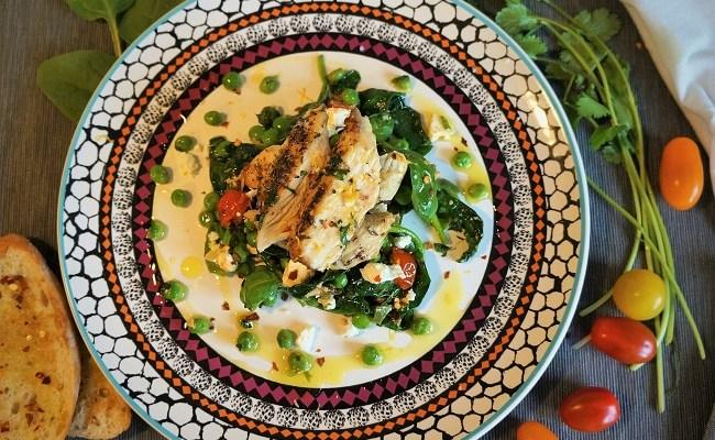 Greek Chicken Recipe – Chicken and Feta Recipe for Harrison's Fund Charity