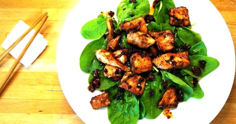 Fancy a quicky? :) Chilli Salmon Salad Recipe