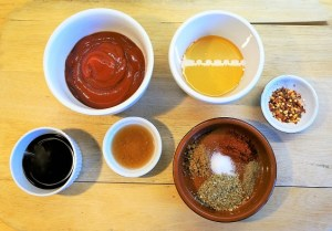 Homemade easy BBQ Sauce by Theo Michaels