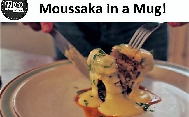 Moussaka in a Mug?! Easy Moussaka Recipe done in 5 minutes. Microwave Mug Recipes