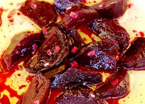 Roasted Beet Salad – my Yiayia's Greek Beetroot Salad | Greek Recipes