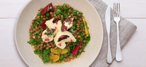 Green-lentil-halloumi-salad-recipe Theo Michaels David Lloyd Clubs